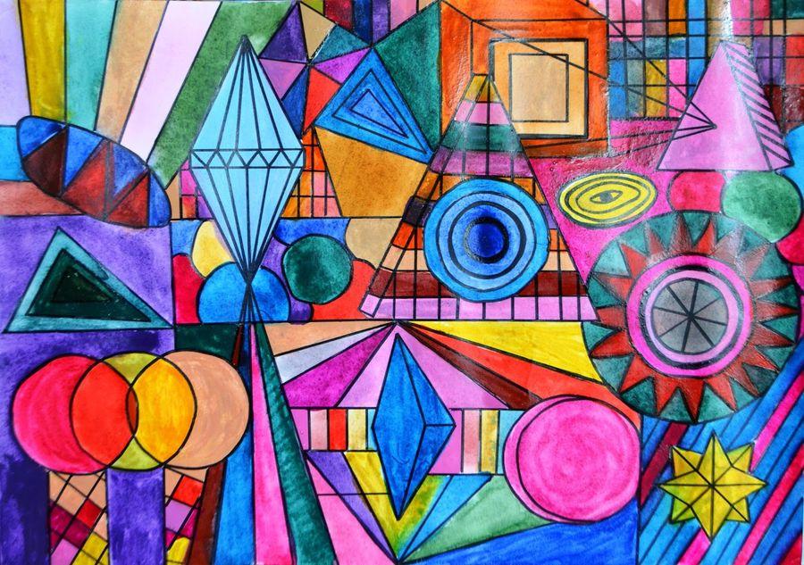 Абстрактне мистецтво! Абстракція в мистецтві! Абстрактний живопис! Абстракціонізм!